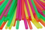 Jumbo Straws Loose Multicolored 2800pcs