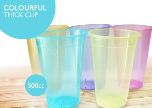 Colored 500ml Cup, 1000pcs